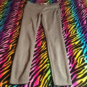 Women's Gray Casual Pants Skinny Fit Small 3/5